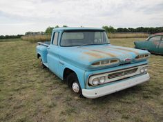 There are just two miles on this 1960 Chevrolet truck. And it's Chevy's stepside model!