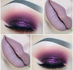 #plum#glitter