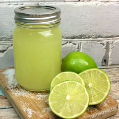 Yummy margarita moonshine! Delicious recipe for summer drinks