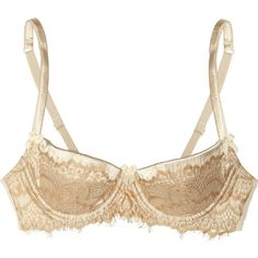 Mimi Holliday by Damaris Lace and satin plunge bra ($35) ❤ liked on Polyvore featuring intimates, bras, lingerie, underwear, neutral, lace underwire bra, lacy bras, stretch bra, lacy lingerie and stretch lace bra