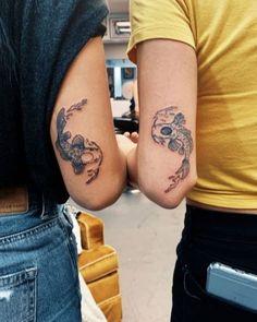 Tattoo Designs For Girls, Tattoo Girls, Girl Tattoos, Tattoos For Women, Tatoos, Tattoo Women, Tattoos On Black People, Tatto Designs, Koi Tattoo Design
