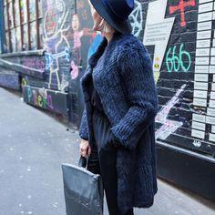 LACHLAN Rabbit Fur Coat