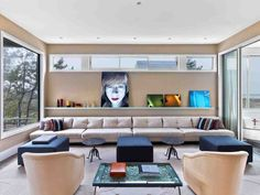 Living Room in Southampton, NY by MARKZEFF