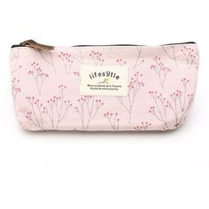 Amazon.com : Leegoal Canvas Pen Bag Pencil Case, Brand New, Different... (25.705 IDR) ❤ liked on Polyvore featuring home, home decor, office accessories, bags, canvas pencil pouch, colored pencil holder, colored pencil case, canvas pencil case and colored pens