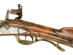 Contemporary craftsmen uphold the artistry and history of Kentucky's namesake rifle Shooting Bags, Shooting Sports, Black Powder Guns, Flintlock Pistol, Long Rifle, My Old Kentucky Home, Fire Powers, Cool Guns, Le Far West