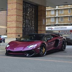 Amazing colour for this Aventador SV!