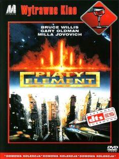 Piąty element (The Fifth Element) DVD  #Piatyelement, #TheFifthElement, #BruceWillis, #GaryOldman, #MillaJovovich, #DVD