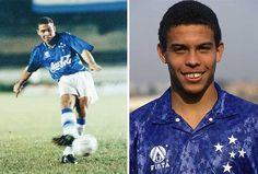 Ronaldo Luiz Nazário Lima (Rio de Janeiro, RJ, 22/09/1976). Veio para o júnior do Cruzeiro, em março de 1993,