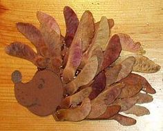 Igel Cheap Fall Crafts For Kids, Easy Fall Crafts, Diy Crafts, School Displays, Dry Leaf, Leaf Art, Nature Crafts, Fall Halloween, Kids Playing