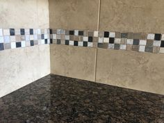 Baltic brown granite, Bruselas Noce tile backsplash with marble urban blend Listel Baltic Brown Granite, Tile Backsplash, Marble, Flooring, Tile Floor, Backsplash, Granite, Kitchen, Saratoga Homes