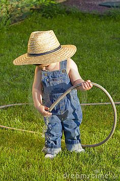 little farmer...