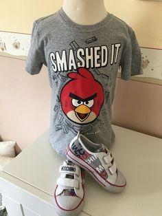 Mein Angry Birds T-Shirt Gr.5 Jahre / 110 cm Neu von angry birds! Größe 110 für 3,00 €. Schau´s dir an: http://www.mamikreisel.de/kleidung-fur-jungs/kurzarmelige-t-shirts/29546727-angry-birds-t-shirt-gr5-jahre-110-cm-neu.