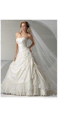 a-lijn-luxe-strapless-trouwjurken-2012
