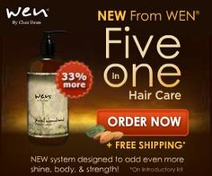 Wen by Chaz Dean a new approach to the way you cleanse your hair. Discover a healthy hair care system with Wen.