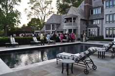Love this back patio (Grosse Pointe Michigan lakeside property)