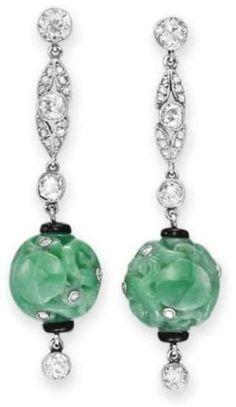 Earrings  1925  Christie's by krystal