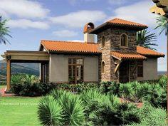 Mediterranean Cottage, 034H-0070