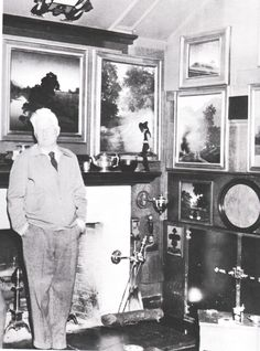 Maxfield Parrish and some of his paintings (1952)
