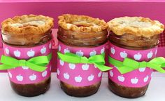 Apple Pie in a Jar.  Gotta learn how to do this!