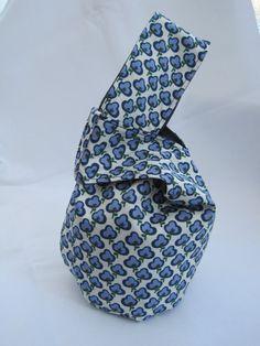 Japanese Knot Bag by MissyJHandmade on Etsy