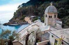 San Fruttuoso di Camogli Abbey, Liguria, Italy