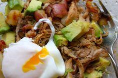 ... - Hash on Pinterest | Pulled pork, Potato hash and Breakfast skillet