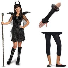 Maleficent Costume with Staff, Gloves and Footless Tights, Junior (7-9) Pinatas http://www.amazon.com/dp/B00NI8P5N8/ref=cm_sw_r_pi_dp_bhh8vb0N961M4
