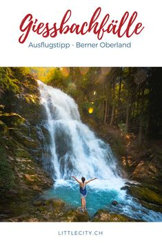 Places In Switzerland, Swiss Style, Seen, Secret Places, Wild Nature, Travel Goals, Shade Garden, Waterfall, Hiking