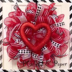 POSH Valentine's Day Wreath
