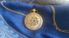Pocket Watch on Long Neck Chain ( Choose your design) (ANTC), £19.99