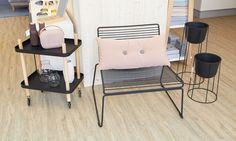 DesignVille Store: Normann Copenhagen Block Table, HAY Hee Chair