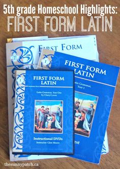homeschool highlights first form latin  #classicaleducation #christianeducation #homeschool #curriculum
