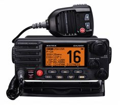 Standard Horizon GX2200E marifoon met GPS en AIS.