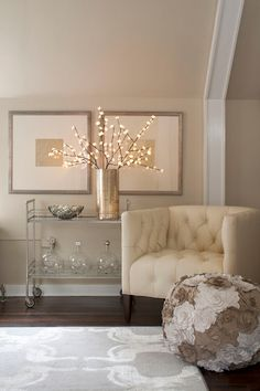 Helpful check list for decorating for parties, hitting seven key decorating spots in your home.