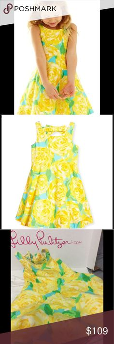 Lilly Pulitzer  Sunglow First Impressions dress Just so cute size 5 holy grail EEUC Lilly Pulitzer Dresses