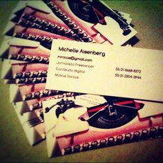 Meus cartões do #Joox chegaram! - @mic_aisenberg- #webstagram