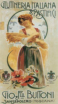 Cartel Buitoni años 20 – Anuncios vintage Nestlé