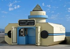 Tourism For Locals: Camera Obscura Provides a 360 Degree View of the Coast