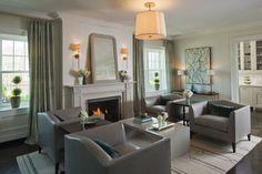 overhead light fixture, light colored area rug
