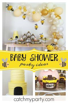 191 Best Bumble Bee Party Ideas Images In 2019 Bee Party Bees