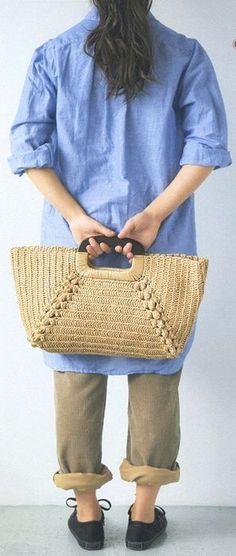 crochet bag - diagram: