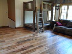 Timberline Framers INC in Pagosa Springs, Colorado. Custom Hardwood flooring. Barronne Residence.