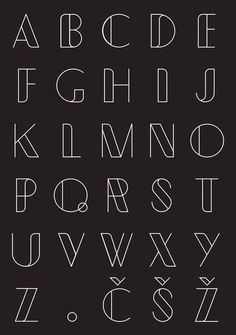 Typometry geometrical free font, display font type, line art font abc alpha Bullet Journal Banner, Bullet Journal Writing, Bullet Journal Ideas Pages, Pretty Fonts Alphabet, Hand Lettering Alphabet, Alphabet Fonts, Alphabet Design, Types Of Lettering, Lettering Styles
