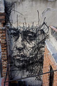 Beyond Banksy Project / Borondo - Madrid, Spain