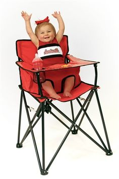 Ready for the final 4 Louisville Ciao! Baby Portable High Chair  - College Teams