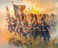 NAPOLEON'S LAST CAMPAIGN (Part Two) - Deadliest Blogger - Scout  The Guard Advances.