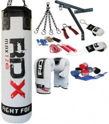 Authentic RDX Brand New 13 Piece Boxing Equipment with 5FT Filled Punch Bag