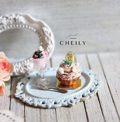 About This Item * * * * * * * * * * * * * * * * * * * * ❣ 12th scale dollhouse miniature tea set- Mont Blanc❣  This is a new Summer 2015