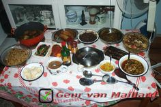 #RijstTafeltje - Geur van Maillard