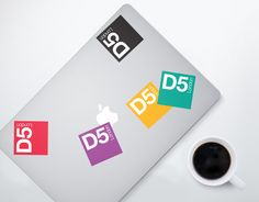D5 London event branding and collateral by Red Stone